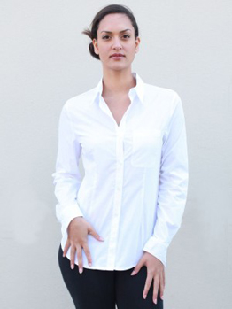 Win a White Button-down Shirt from New Factory, Friend - YLF ...