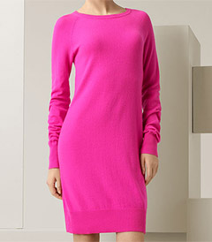 Michael Kors Neon Cashmere Dress