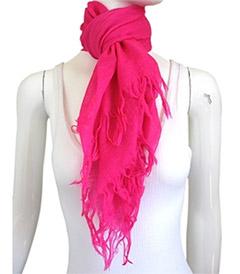Bindya - Women's Neon Pink Scarf