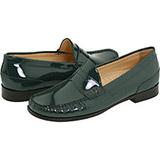 Cole Haan - Air Penny Moc (Dark Spruce Patent) - Footwear