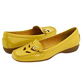 Etienne Aigner - Helina (Yellow Patent) - Footwear