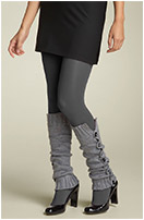 Betsey Johnson 'Buttons Up' Leg Warmers