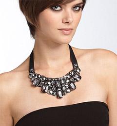 Tasha 'Cleopatra' Jeweled Bib