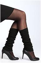 Calvin Klein Mohair Blend Legwarmers