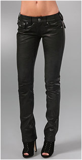 Billy Leather Pants