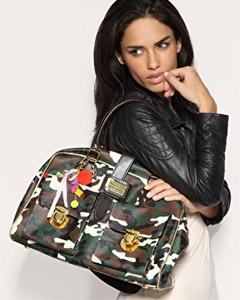 Paul's Boutique Camouflage Pockets Bag