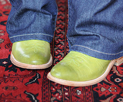 Apple Green Cowboy Boots