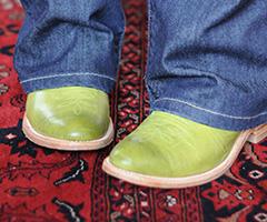 Apple Green Cowboy Boots
