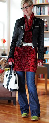 Animal Tunic & Biker Jacket