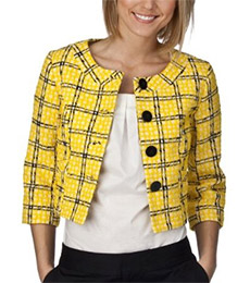Merona® Collection Women's Plaid Tabatha Blazer