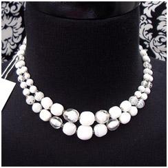 Vintage Venetian Style Glass Necklace