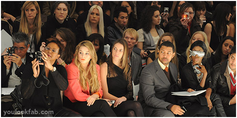 Front Row Audience