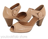 Clarks Diamond Heart Sandal - Beige