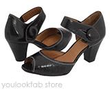 Clarks Diamond Heart Sandal - Black