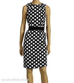 Michael Kors Polka Dot Shift Dress