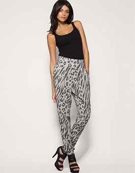 ASOS Leopard Print Harem Trouser
