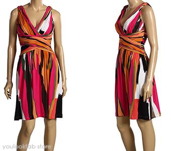 Calvin Klein Shirred Tank Dress