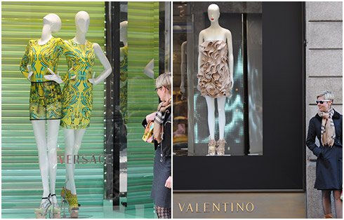 Versace & Valentino Windows