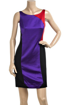 Alwyn Block Color Dress
