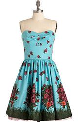Betsey Johnson Sky Bloom Dress