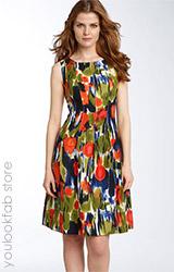 Calvin Klein Stitch Seam Dress
