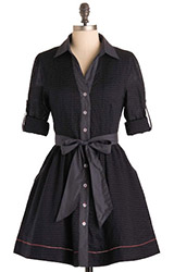 Checks Mix Dress