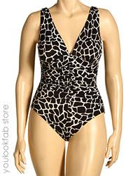 Miraclesuit Choc Croc Sonatina Swimsuit