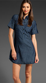 Genetic Denim Addison Shirt Dress