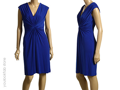 Calvin Klein Knotted Front Dress