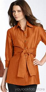 Farinaz 'Rapture' Linen Blend Tunic