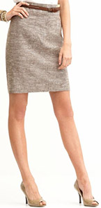 Linen/Cotton Sophisticate Skirt