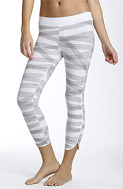 DKNY Abstract Stripe Leggings