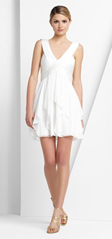 Flounce Chiffon Dress