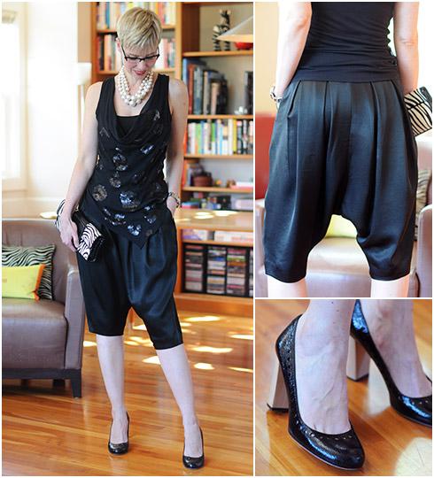 Harem Pants - Dressy Outfit