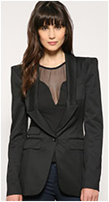Warehouse Long Line Tailored Blazer
