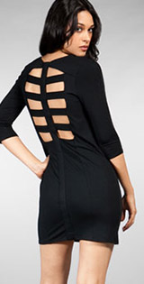 Michelle Mason Open Spine Dress