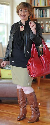 Outfit 1: Biker Jacket