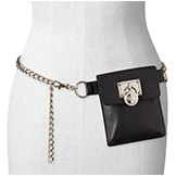 Chain Belt with Bag