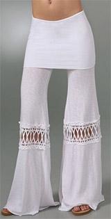 Fold Over Beach Pants