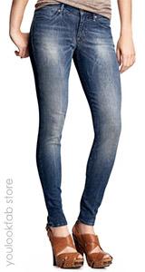 Legging Jeans (Faded Medium Wash)