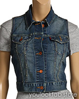 Levi's Trucker Denim Vest