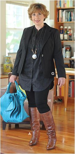 Outfit 3: London Blazer