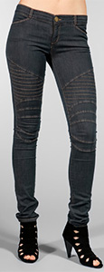Moto Legging in Super Stretch