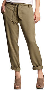 Slouchy Belted Pants