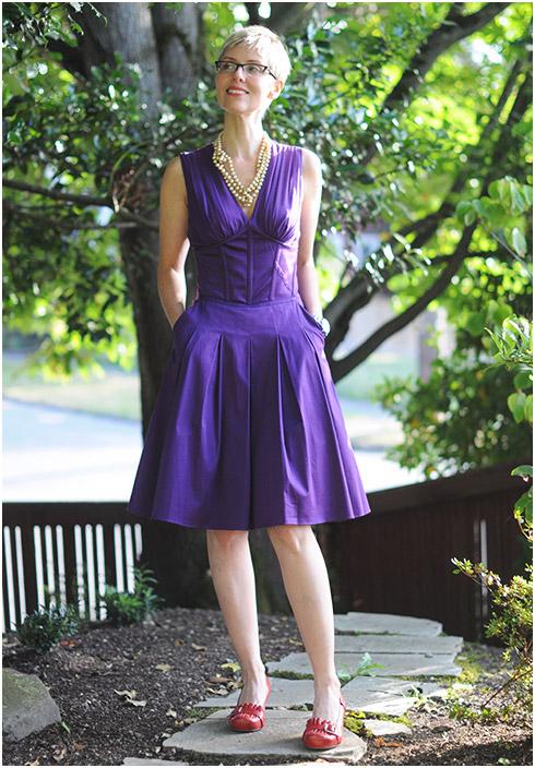 Miz Mooz with Dress