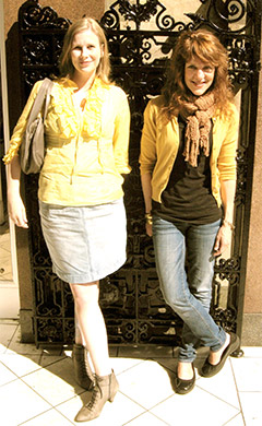 Julie & Jean in Edinburgh