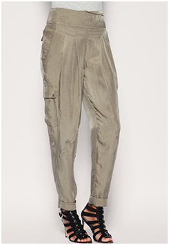 Soft Safari Pleat Trousers