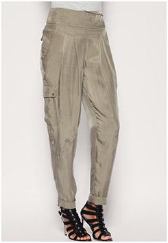 Soft Safari Pleat Trousers