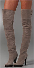 Jordon Suede Over the Knee Boots