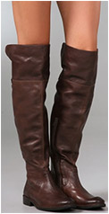 Shirley Over the Knee Riding Boots